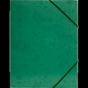 Elastikmappe I Pp - Grøn