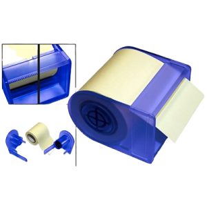 Sticky Notes Roll M/Disp. 6Cmx10M Gul