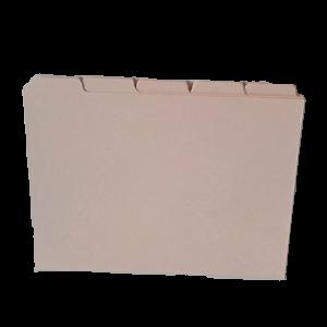 Fanekort A5, 5-Delt (50 Kort)