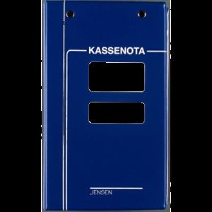 Kassenotabind Vinyl 2280&2340 - Blå