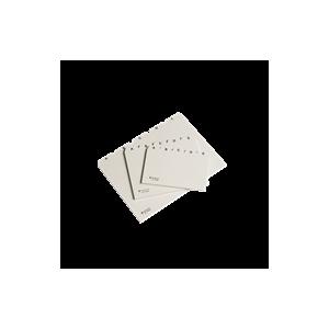 Kartotekalfabet A6 Plast