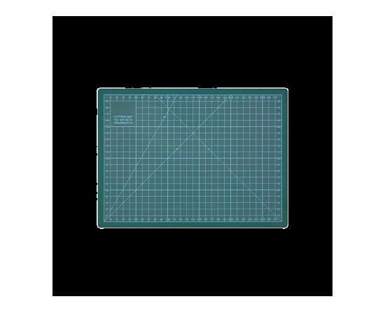 Skæremåtte 22 X 30 Cm 3Mm Grøn