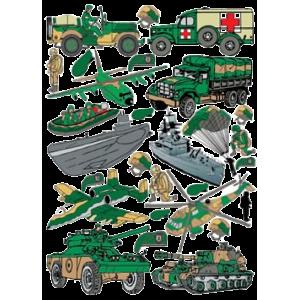 Stickers Militær