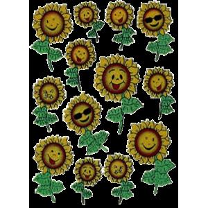 Stickers Solsikker