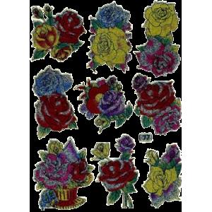 Stickers Rose Buketter
