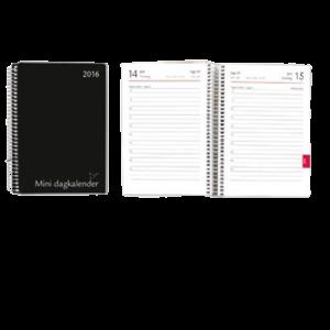 Spiral Dagkalender Mini  2020 Sort
