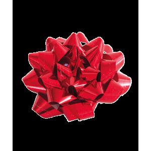 Rosetter Metallic  Rød 36 Stk I Ps