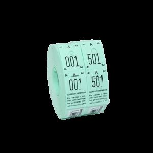Garderobenumre 30X150 - Grøn 3-Delt
