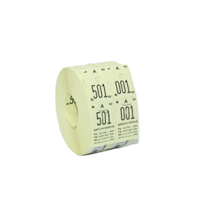 Garderobenumre 48 - Gul (2X500)