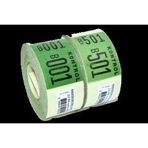Pakkekontrol 3-Delt  Grøn