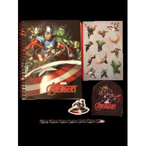 Marvel Avengers Skrivesæt 5 dele