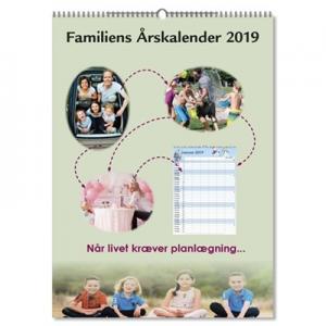 Familiens Årskalender 2020 - A3
