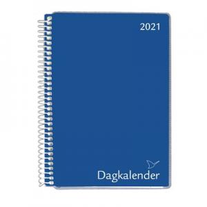 Spiral A5-Kalender 2021 Sort