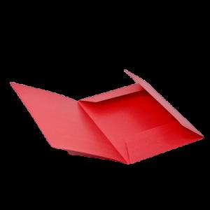 Mappe Dkf-125, A4 - Rød