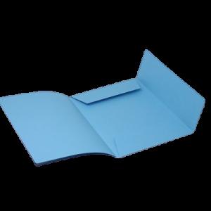 Mappe Dkf-125, Folio - Blå