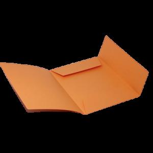 Mappe Dkf-125, Folio -Orange