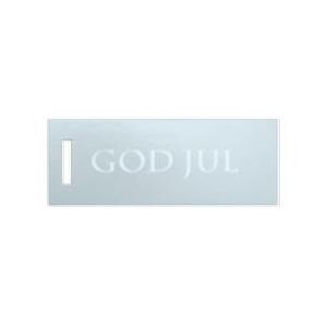 """250 SK. HÆNGEMÆRKER GOD JUL"""" SØLV"""""""
