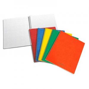 Spiral-Notes - 21 X 16,5 Cm Linieret - 60 Blade