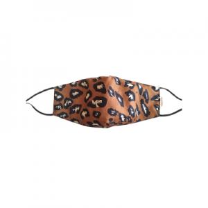 "Mundbind "" Leopard Marron"""