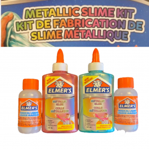 Metallic slime kit