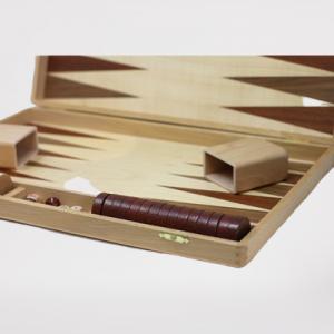 Træbackgammon - 38X25Cm