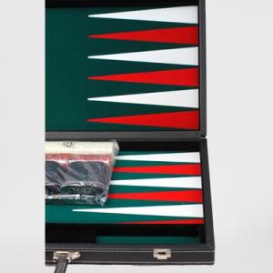 Backgammon - 45X28Cm - Sort - Trykt