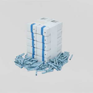Lotteri 1-100 Blå 10 Pk