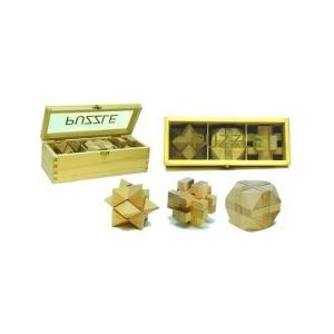 Iq Træ Puzzle - 3 I En Box