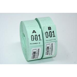 Ventemærker 46 - Grøn (1-1000)