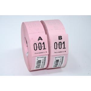 Ventemærker 46 - Rosa (1-1000)