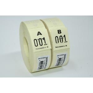 Ventemærker 46 - Gul (1-1000)