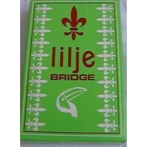 Spillekort - Lilje  Enkelt 55 Kort