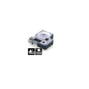 43613-Dymo D1 Tape - 6 Mm - Sort / Hvid