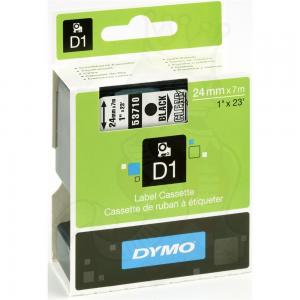 53710-Dymo D1 Tape - 24Mm - Sort/Klar