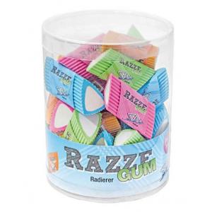 "Viskelæder ""Razze Gum"" Ass Farver 24 Stk"