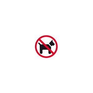 Pictogram Hund Forbudt
