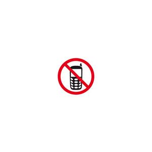 Pictogram Mobil Forbudt